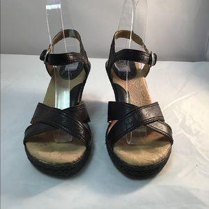 Born concept sandals leather buckle up 7 M/W
